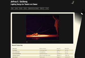Jeffrey Salzberg Website Preview
